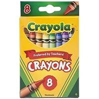 Crayola ( R ) 8-countクレヨン – 標準( 12ボックス)