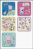 丸眞 ミニタオル 5枚組 Peppa Pig ペッパピッグ 15×15cm ハローペッパ 5755004200