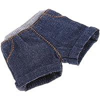 Fenteer かわいい 1/6ブライス アゾン リッカ プーリップドールのため ズボン ショーツパンツ 全5色選択 - 濃紺