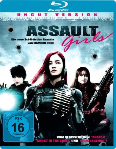 Assault Girls [Blu-ray] [Import allemand]