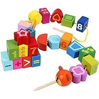Zhenyu子おもちゃDIY数学的認知木製ビーズおもちゃfor赤ちゃんのギフト