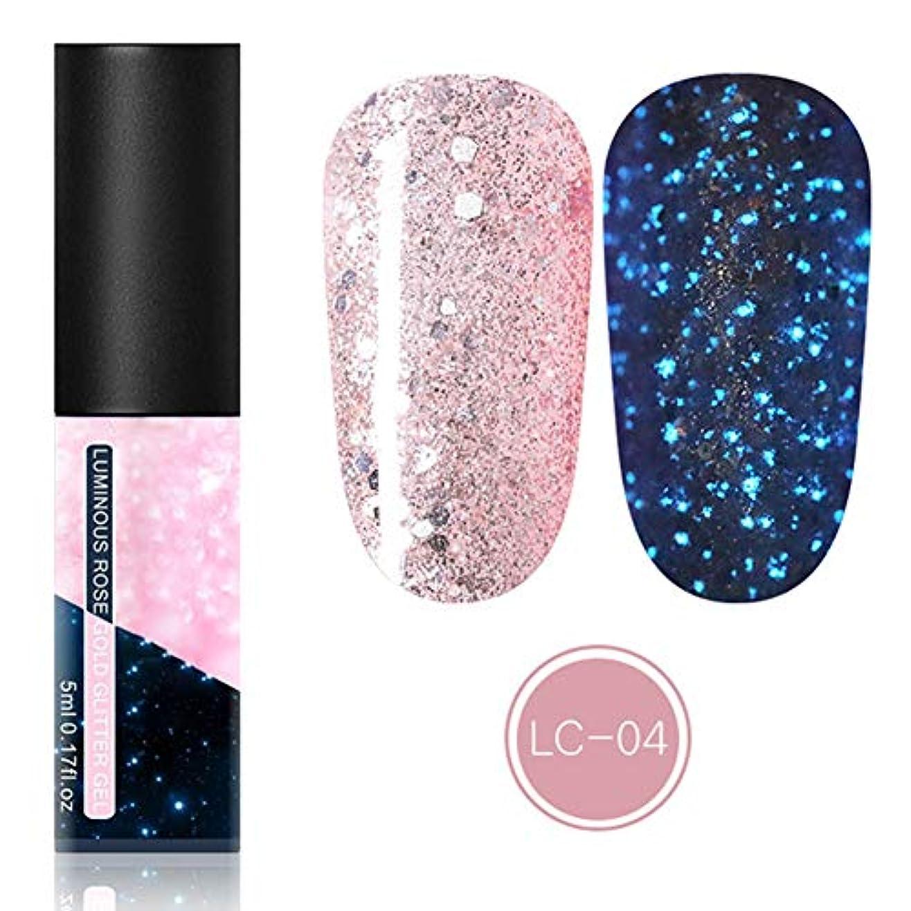 九時四十五分リズム不正直feelingood Gel Nail Polish,Fluorescent Gel Nail Polish Glow in Dark Nail Enamel Varnish Gel Manicure Supply
