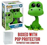 Funko POP 。Disney Pixar : Good Dinosaur – Arlo Vinyl Figure (バンドルwith Popボックスプロテクターケース)