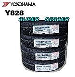 ヨコハマ(YOKOHAMA) 4本セット SUPER DIGGER Y828 145R12