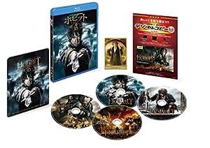 【Amazon.co.jp限定】ホビット 決戦のゆくえ 3D&2D ブルーレイセット(初回限定生産/4枚組/デジタルコピー付) (B2ポスター付) [Blu-ray]