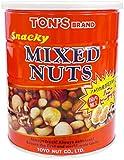 東洋ナッツ食品 スナッキーミックスナッツ缶 650g