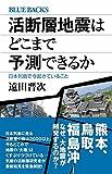 活断層地震はどこまで予測できるか 日本列島で今起きていること (ブルーバックス) 画像