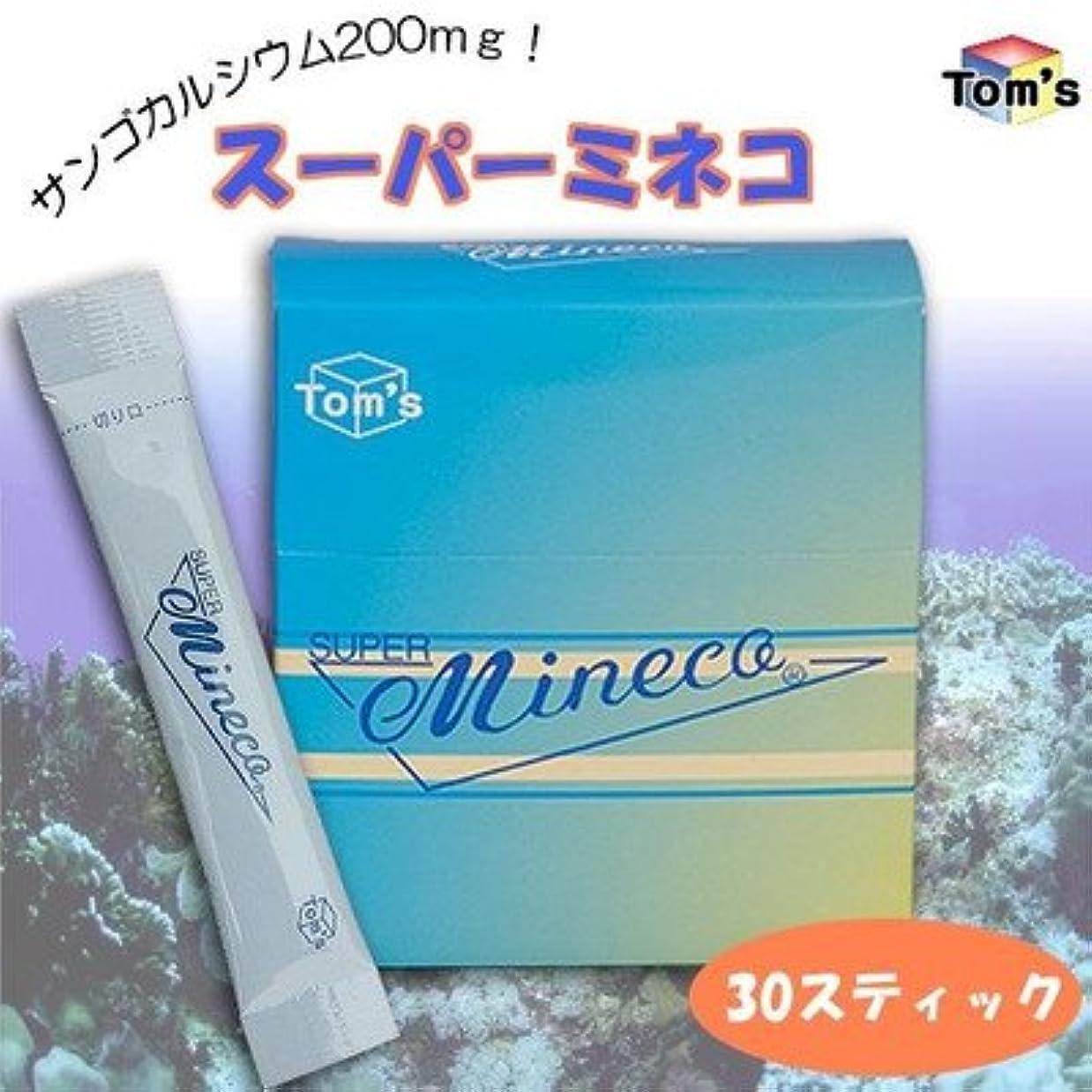 代表ドック火曜日サンゴカルシウム200mg スーパーミネコ 1箱 (30スティック入)