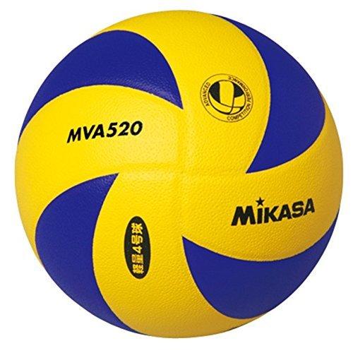 ミカサ バレーボール 4号軽量 MVA520 4号球 MVA520 YL/BL 4