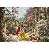 西洋絵画 トーマスキンケード 白雪姫 ダンシング イン ザ サンライト 42x30cm ディズニー Snow White Dancing in the Sunlight Thomas Kinkade スノー ホワイト [並行輸入品]