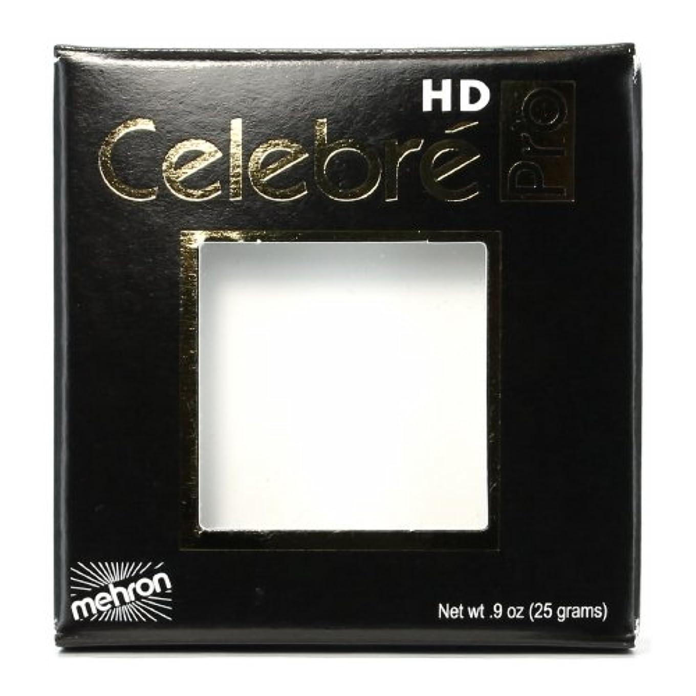 叙情的なプロトタイプ一握り(3 Pack) mehron Celebre Pro HD Make-Up - White (並行輸入品)