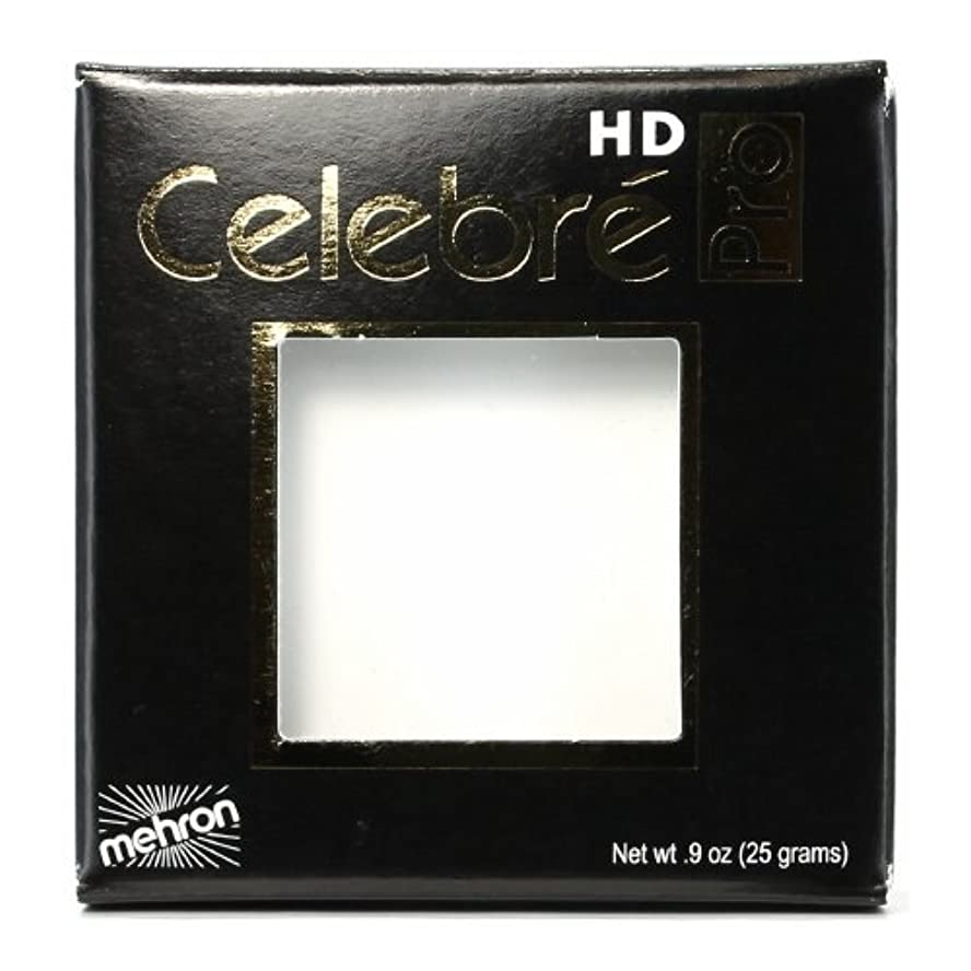 辞書巨大な未就学(6 Pack) mehron Celebre Pro HD Make-Up - White (並行輸入品)