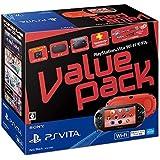 PlayStation Vita Value Pack Wi-Fiモデル レッド/ブラック【メーカー生産終了】