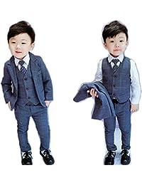 男の子スーツ 子供スーツ 3点セット フォーマル 子供発表会入学式 スーツ 男の子スーツ キッズ ジュニア 紳士服 七五三 子供スーツ こどもスーツキッズ 子供服フォーマルスーツ 子供スーツベビースーツ入学式 誕生日 入園式