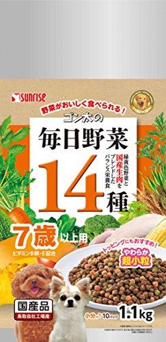 サンライズ ゴン太の毎日野菜14種 7歳以上用 1.1kg