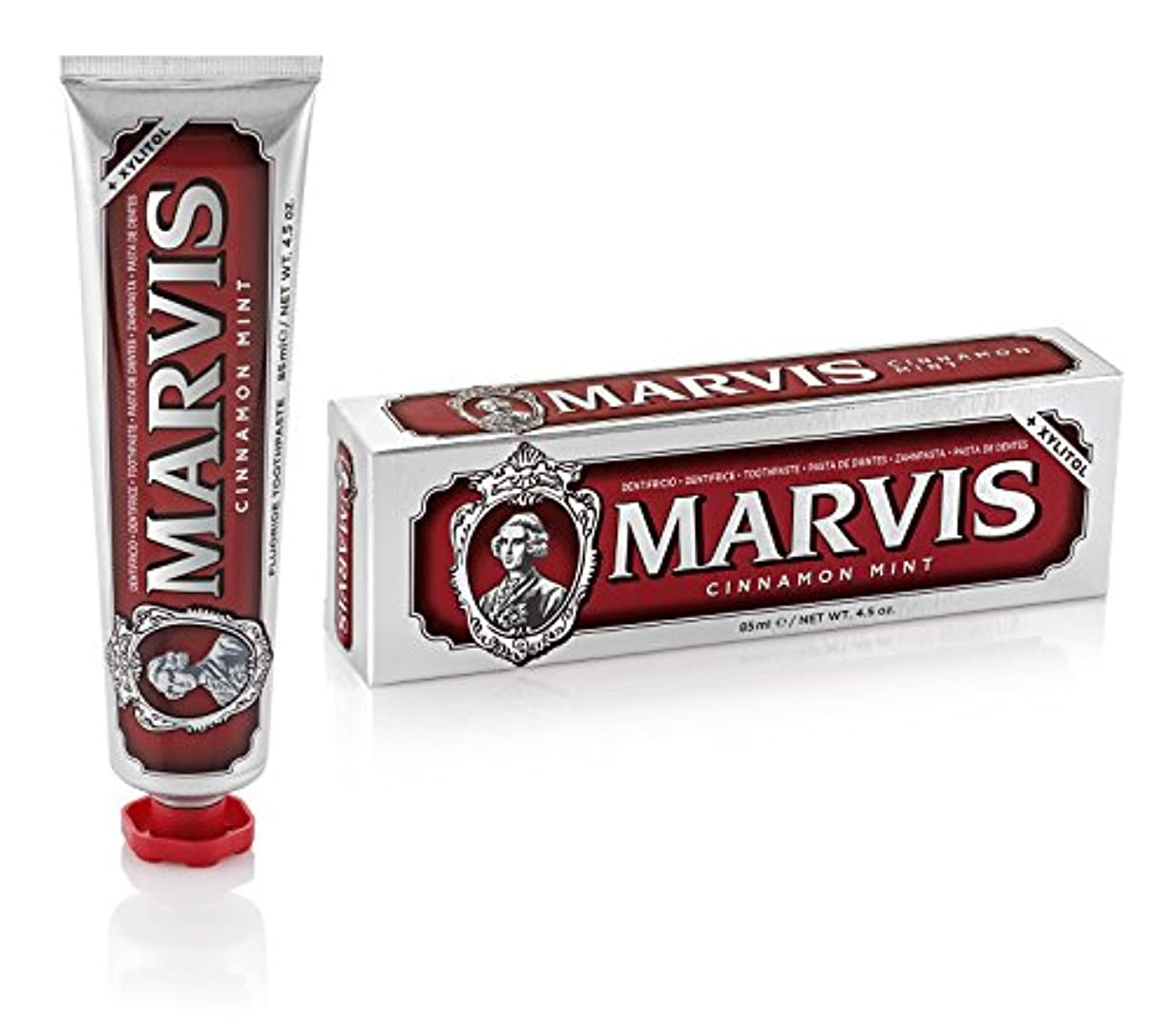 シンカンアイドルフラッシュのように素早くマーヴィス Cinnamon Mint Toothpaste 85ml/4.5oz並行輸入品