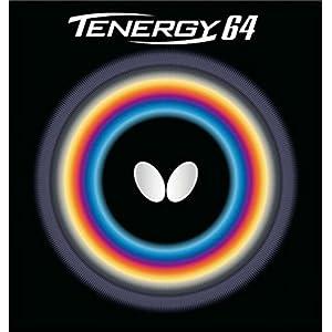 バタフライ(Butterfly) 卓球 ラバー テナジー・64 裏ソフト テンション (スピン) 05820