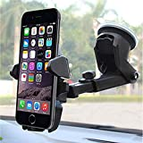 Yachee Universal Car Phone Holder. Long Neck Mount Holder for Car with 360° Rotatable Head and Adjustable Arm. Smartphone Car Mount for iPhone XS MAX — 5S, Samsung Galaxy/ Note Series, Google Piexl, HTC, HuaWei and More.