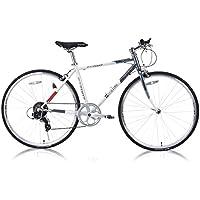 FORTINA(フォルティナ) FT-7007 クロスバイク700C シマノ製7段変速付(サムシフター)  軽量設計 クイックレリーズ 高さ調整可能Aヘッドスタイルステム