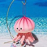 海中散歩 くらげのプルモー マスコットキーホルダー アカクラゲ