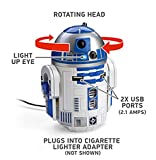 スターウォーズ R2-D2 USB 車載充電器 iPhon, iPad, Androido対応(並行輸入品)