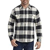 Dickies Mens WL654 Long Sleeve Flex Flannel Woven Shirt Long Sleeve Shirt