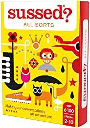 SUSSED All Sorts - The Original Who Knows Who Best Card Game - Treat Yourself