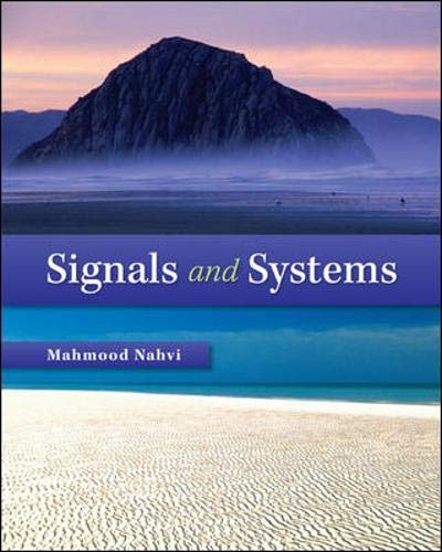 Download Signals & Systems 0073380709