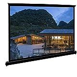 Movie Screens for Projectors Outdoor, Portable Projector Screen, 50 inch 4:3 Anti-Crease Waterproof Easy Install Floor-Standi