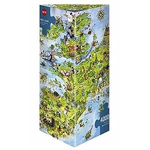 HEYE Puzzle ヘイパズル 08854 Marino Degano : United Dragons of Europe (4000 pieces)