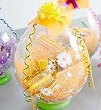 生花 が バルーン の中に入った バルーン ( お花 柄 ) フラワー ( ミックス 系 ) サプライズ ギフト
