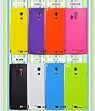 PLATA ARROWS X LTE F-05D ケース カバー ソフトケース f05d 【 パープル 紫 purple 】