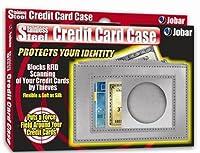 ステンレススチールクレジットカードケースby Jobar国際