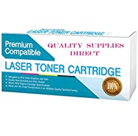 QSD Compatible Toner Replacement for HP C8543X, Works with: See 2nd Bullet Point for Compatible Machines, Jumbo Toner- 27% More Yield! (Black)