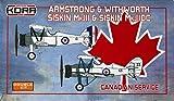 コラモデルス 1/72 カナダ空軍 アームストロング ホイットワース シスキンMk.3 & Mk.3 DC デュアルコンボ プラモデル KORPK72116