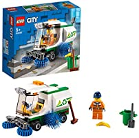 LEGO City Street Sweeper 60249 Construction Toy, Cool Building Toy for Kids