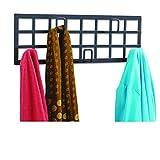 Safco Products 4663BL Grid Coat Rack, Black [並行輸入品]