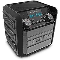 ION Audio 防水Bluetoothスピーカー 30時間バッテリー スマホ充電可能 AM/FMラジオ Tailgater Go