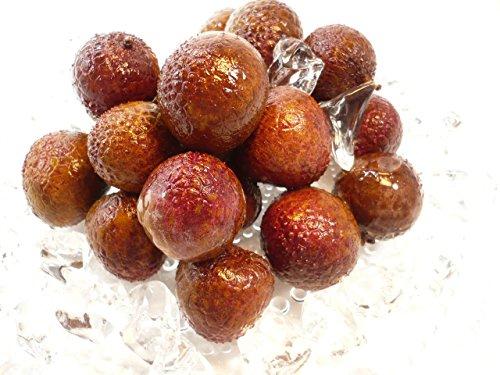 フレッシュ ライチ 果物 果実 皮付き 500g バラ凍結品