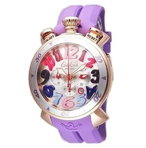 [ガガミラノ]GAGA MILANO 腕時計 ラバーベルト 60569RUBBERPUR メンズ 【並行輸入品】