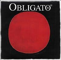 Pirastro 411025 Obligato Synthetic Core Violin String Set E-Loop Mittel Envelope 4/4 Size [並行輸入品]