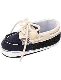 Tovadoo ベビーシューズ 女の子 靴ひも 欧米風 コットン つま先保護 歩行練習用 カジュアル 通学 旅行