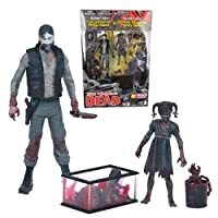 WALKING DEAD COMIC SERIES2モノクロ流血知事&ペニーEXCLUSIVEアクションフィギュア2パック   THE WALKING DEAD COMIC SERIES 2 BLACK & WHITE BLOODY GOVERNOR & PENNY EXCLUSIVE ACTION FIGURE 2 PACK