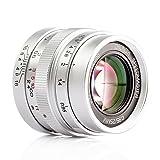 中一光学(ZHONG YI OPITCS) 固定焦点レンズ 25mm F0.95 M4/3 GH4 GF8 Panasonic Olympusカメラに対応 収納袋付き