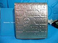 サマンサタバサ プチチョイス スターウォーズ 限定 C-3PO 本牛革 型押 折財布 保証書 包装付 ルーカス ディズニー