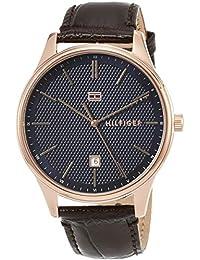 [トミーヒルフィガー]TOMMY HILFIGER 腕時計 DAMON ネイビー文字盤 クォーツ 1791493 メンズ 【並行輸入品】