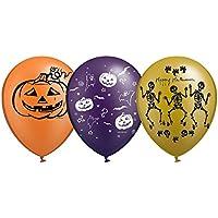 Peoples Party ハロウィン ゴールドトーン デザイン 風船 20個セット 3タイプ Halloween