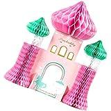 Baosity ハニカム装飾 ハニカムボール 魔法の城 ユニコーン 誕生日 パーティー 飾り付け