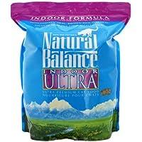 ナチュラルバランスキャットフードインドアキャット12.6ポンド/5.7kg(6.3ポンド/2.85kg×2袋)+ネコちゃん用おやつプレゼント