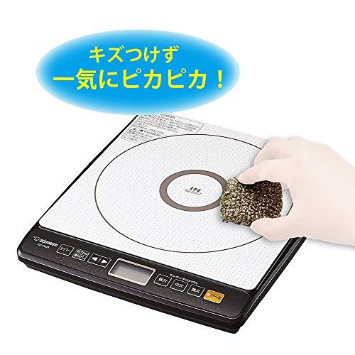 キッチン スポンジ IHガラストップ専用 コゲとりクリーナー 1個 アイセン